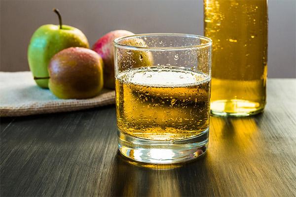 Польза и вред яблочного сидра