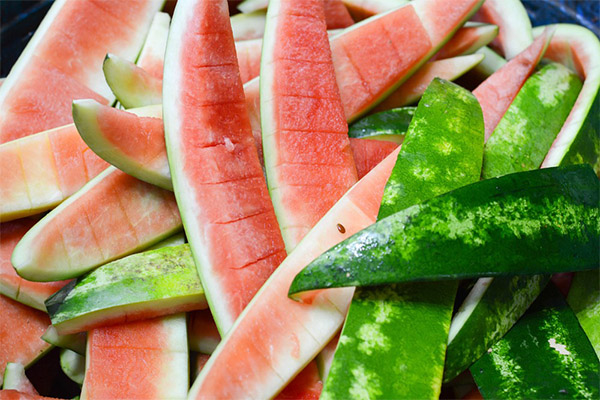 Польза кожуры арбуза