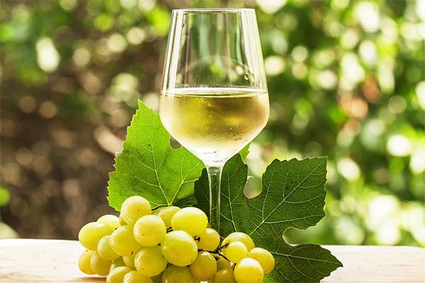 Применение белого вина в кулинарии