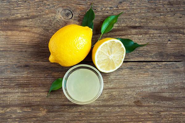 Применение лимонного сока в бытовых условиях