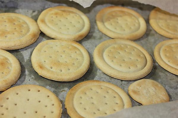 Рецепты галетного печенья