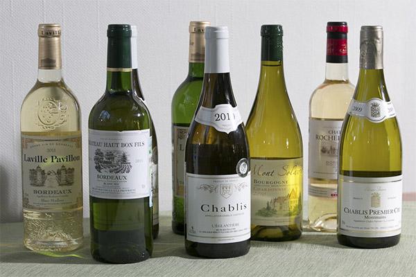 Рейтинг белых сухих вин