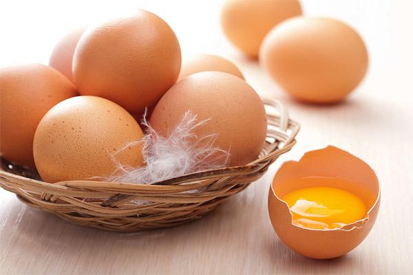 Сырые яйца в медицине