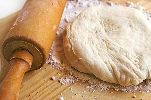 Тесто на ряженке