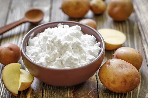 Как сделать картофельный крахмал