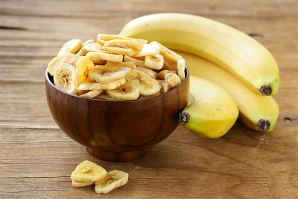 Как сушить бананы