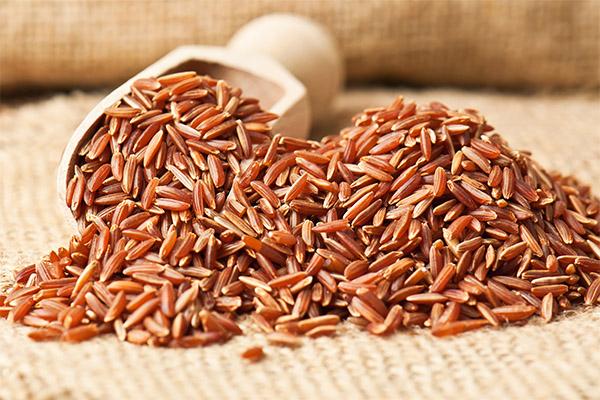 Как выбрать и хранить красный рис