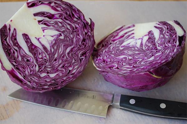 Народные рецепты с краснокочанной капустой