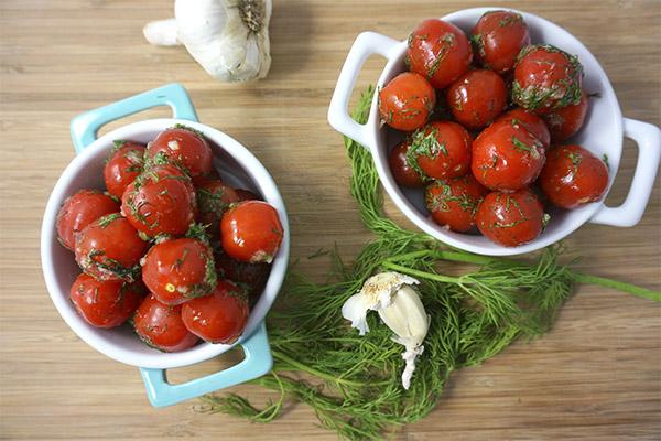 Польза и вред соленых помидоров