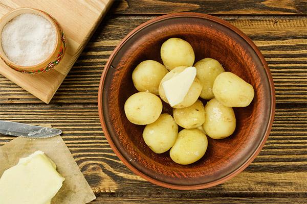 Применение вареной картошки в косметологии