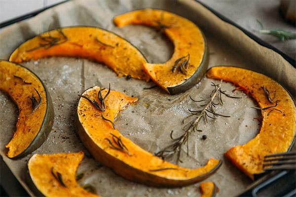Рецепты запеченной тыквы в духовке