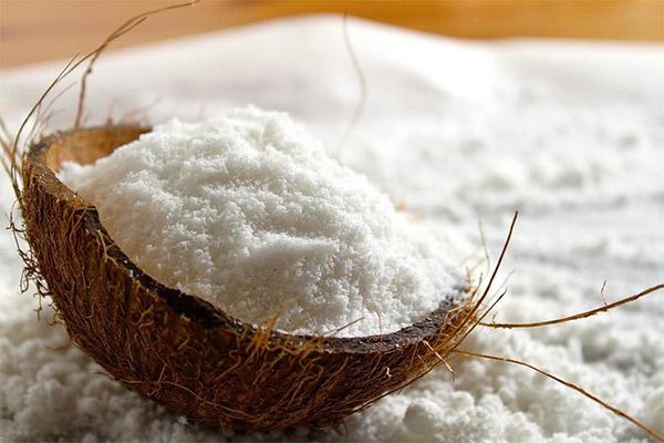 Состав кокосовой стружки