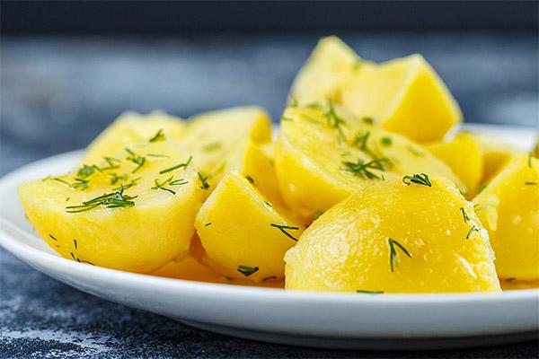 Вареный картофель в медицине