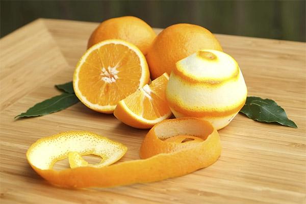 Апельсиновые корки в медицине