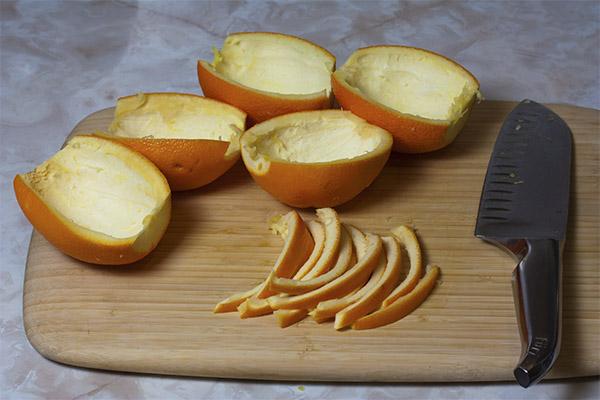 Что можно приготовить из апельсиновых корок