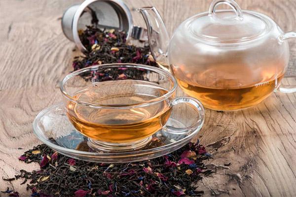 чай шах с бергамотом