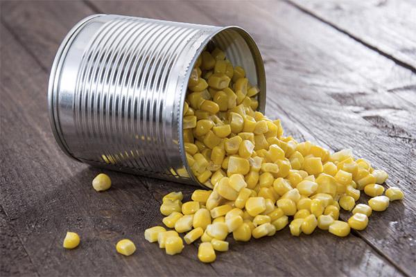 Полезна ли консервированная кукуруза