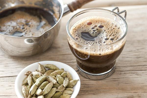 Польза и вред кофе с кардамоном