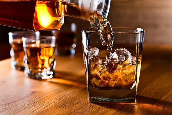 Правила подачи виски