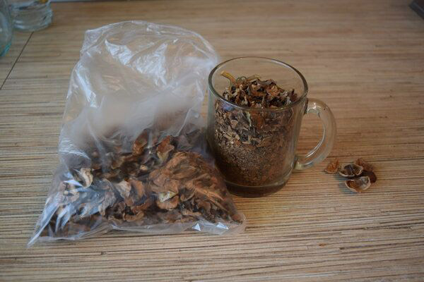 Применение настойки из перегородок грецких орехов