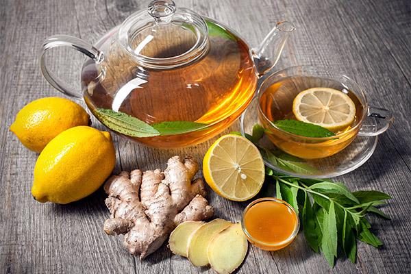 С чем сочетается лимонный чай
