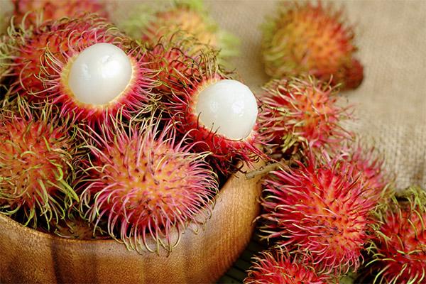 Полезные свойства фрукта рамбутан