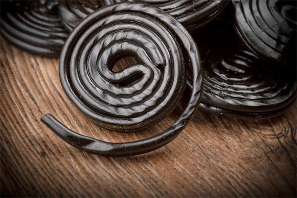 Польза и вред лакричных конфет