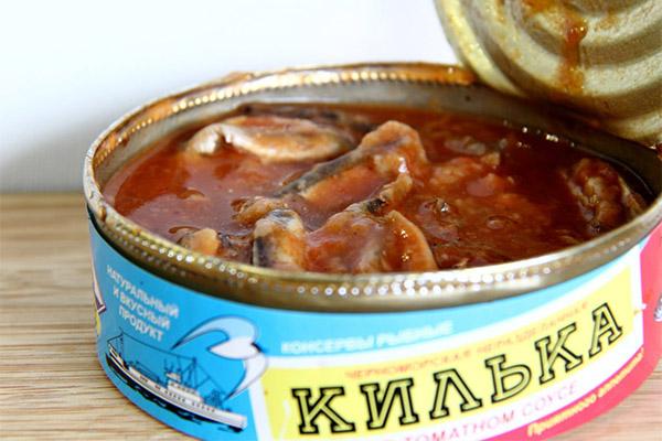 Чем полезна килька в томатном соусе