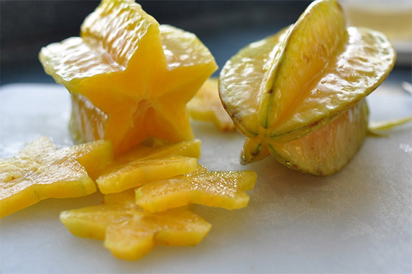 Полезные свойства фрукта карамбола