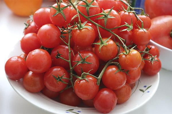 Что можно приготовить из помидоров черри