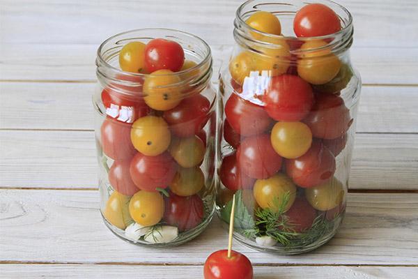 Как замариновать томаты черри