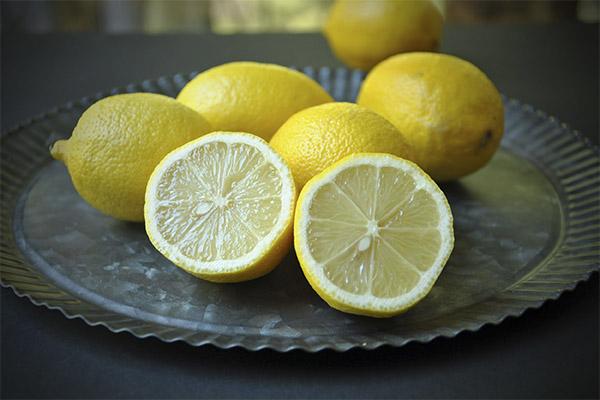Спектр применения лимона