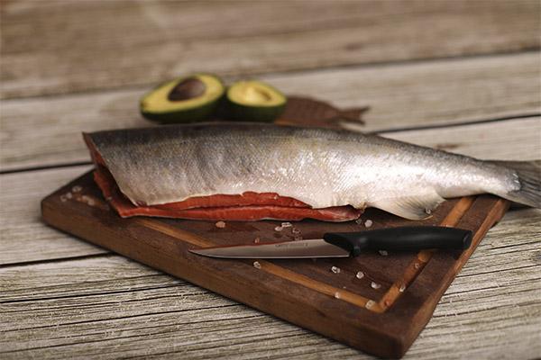 Что можно приготовить из рыбы кижуч