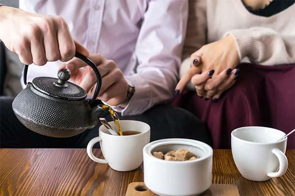 Через какое время после еды можно пить чай или кофе