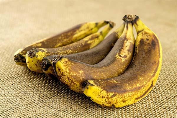 Что можно приготовить из почерневших бананов
