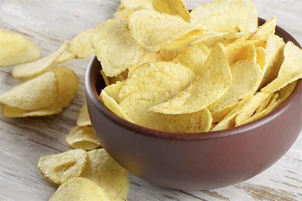 Как правильно употреблять чипсы