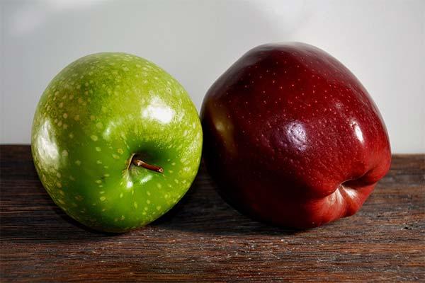 Какие яблоки полезнее при грудном вскармливании