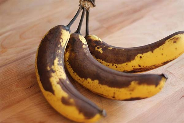 Можно ли есть почерневшие бананы